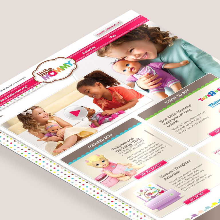 Sitio Web Little Mommy